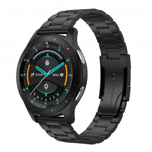 W68 Smart Watch Men 1.28'' Full Touch Heart Rate Blood Pressure Sleep Monitor Watches IP67 Smartwatch