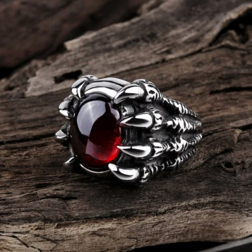 Fashion Stainless Steel Skull Ring