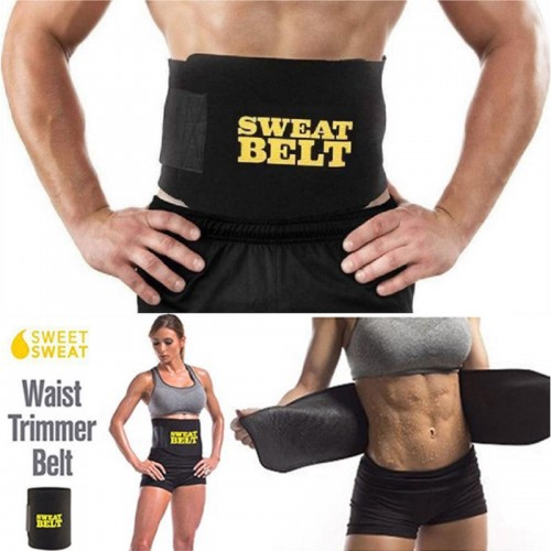 Unisex Sweat Belt Waist Trimmer Shapers Waist Trainer Corset Shapewear Walking Jogging Control Body