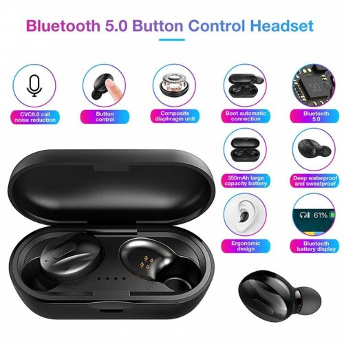 XG13 TWS Wireless Bluetooth Earphones Handsfree Noise Cancelling Earbuds Gaming Headset For Xiaomi For Huawei phone
