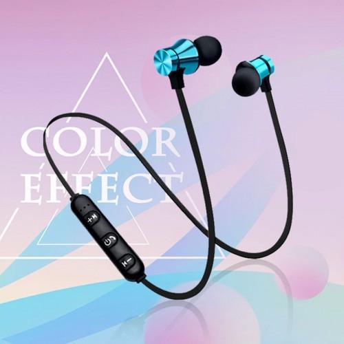 Magnetic Bluetooth Earphone V4.2 Stereo Sports Waterproof Earbuds Wireless in-ear Headset with Mic
