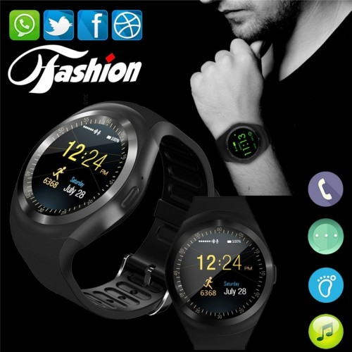 Y1 Bluetooth Smart Watch Android Smartwatch Support Nano SIM Card And TF Card Unisex