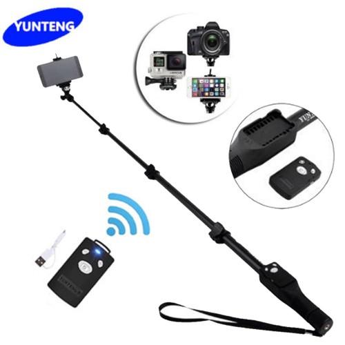 Yt-1288 Selfie Stick Tripod Monopod Bluetooth Extendable Handheld For Phone