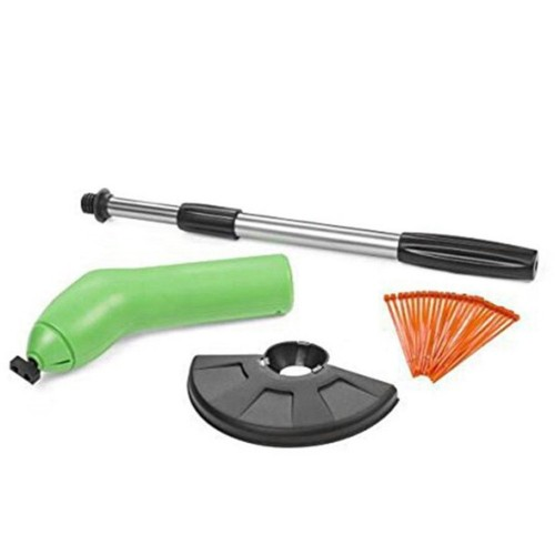 Portable Extendable Trimmer With Protective Shield Garden Weeder