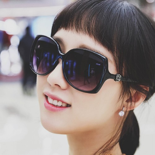 Women Sunglasses  anti-reflective Summer Vintage driver Retro flower Sun Glasses
