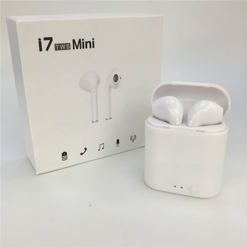 i7s TWS Mini Wireless Bluetooth Earphone Stereo Earbud With Charging Box Mic