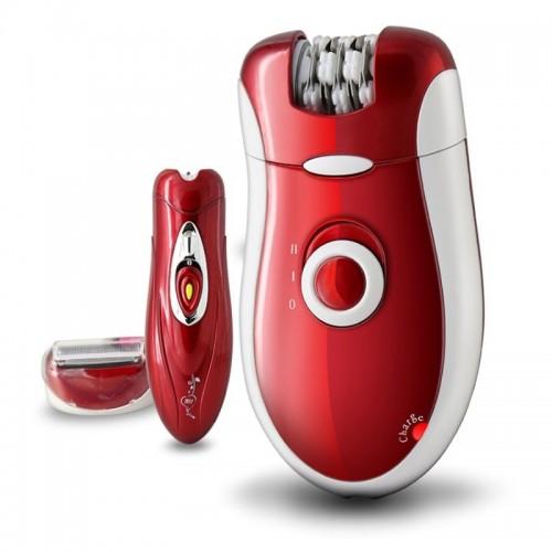 kemei KM-3068 New 3 in 1 Women Electric Shaver Epilator Female Body Care