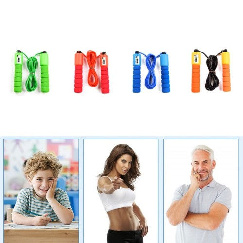 Personal Health Care Fitness Exercise Fast Speed Counting Slimming Body Jump Rope