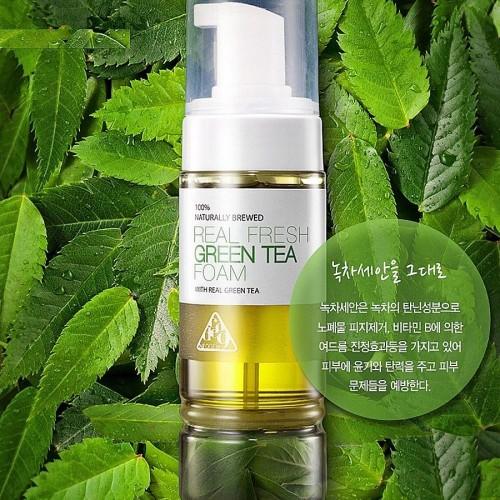 Neogen DERMALOGY Real Fresh Foam Green Tea 160ML