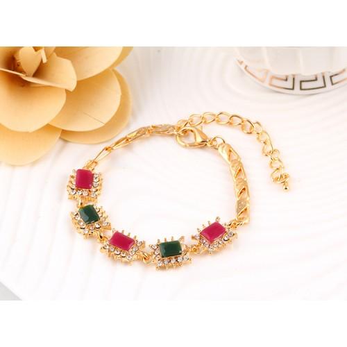 Beautiful Gold Plated Zircon Bracelet