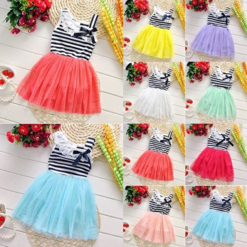 Baby Girl Cotton Party Dress