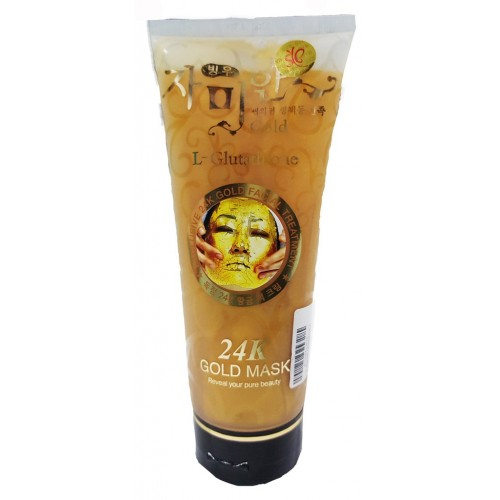 24K Gold Mask L Glutathione Soft Facial Treatment 220 ml