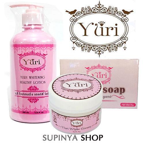 YURI WHITENING BODY GINSENG SET