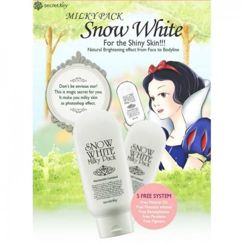 Secret Key Snow White Milky Pack