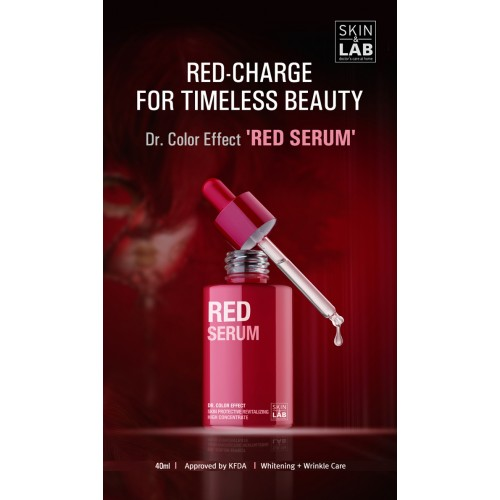 SKIN&LAB Dr. Color Effect Red Serum 40ml