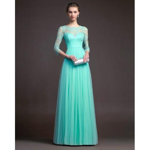 Peplum Lace Patchwok Hollow Full Length Maxi Dresses