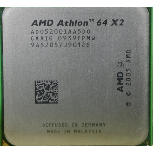 AMD Athlon X2 Processor 2.7Ghz 5400+ 5000+