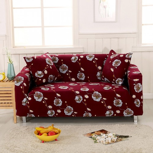 Elastic Sofa Cover Sectional Stretch Slipcovers for Living Room Couch Cover 2