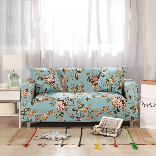 Elastic Sofa Cover Sectional Stretch Slipcovers for Living Room Couch Cover 14