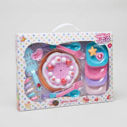 Fairly Tale World Pastry Party Sweet Dessert  Play Set