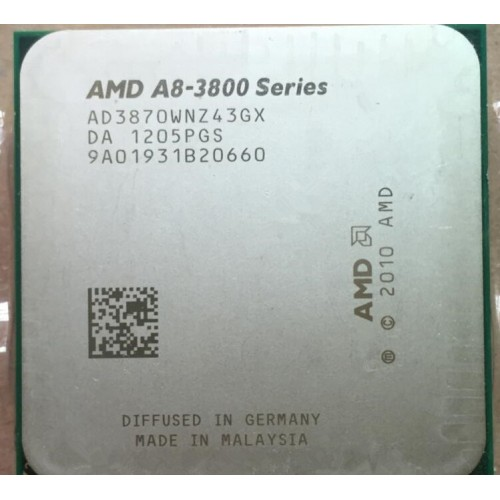 AMD A8 3.0GHz Desktop Processor
