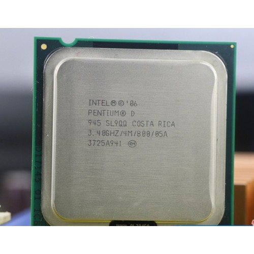 Intel Pentium D 3.4Ghz Processor For Desktop