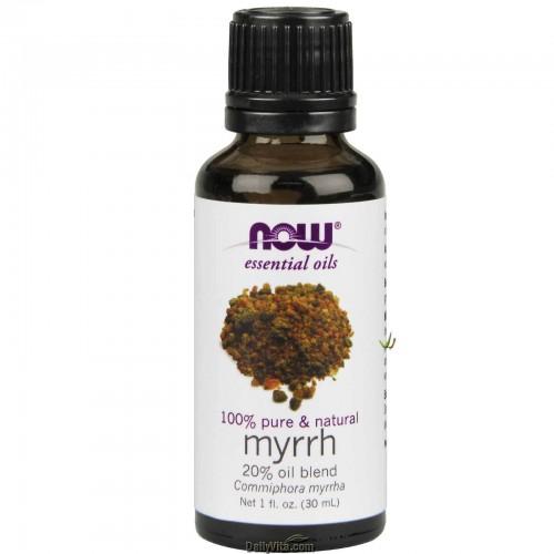 Now Foods, Essential Oils, 100% Pure Myrrh Oil Blend 30ml