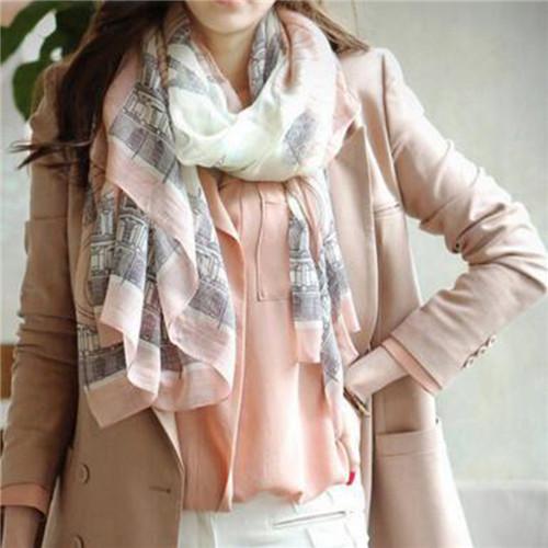 New Fashion Trendy Women Long Bohemian Print Wrap Shawl Scarf Ladies Big Girl Scarf Tole Styles