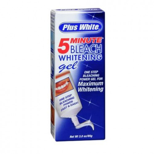 Plus White 5 Minute Bleach Whitening Gel 85g