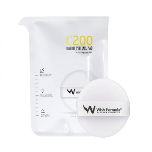 KOREA Wish Formula C200 Bubble Peeling Pad 1.5ml