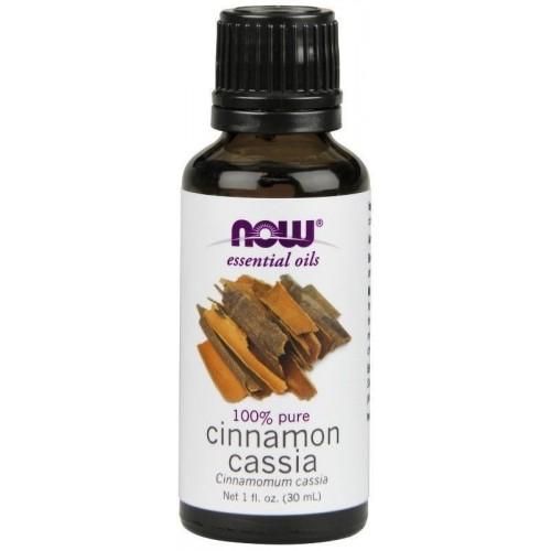 Now Foods, Essential Oils, 100% Pure Cinnamon Cassia Essential Oil 30ml