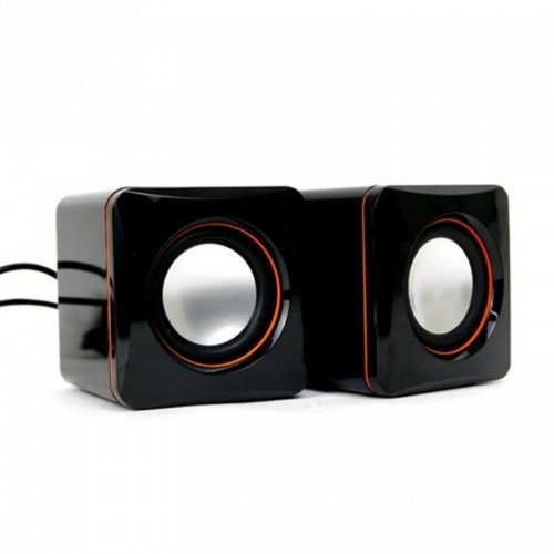 1Pairs Portable USB Speakers Sound Music Box For PC Computer Laptop Notebook