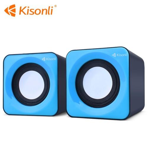 Kisonli Speakers V310 Multimedia Computer Speaker System Set