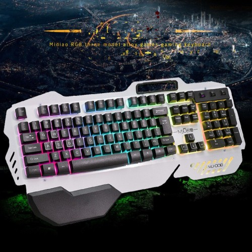 Midio RGB Backlight Semi Mechanical Gaming Keyboard