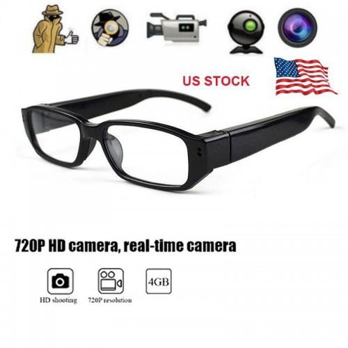 HD 720P Glasses SPY Hidden Camera Eyewear Security Cam Video Recorder Eye Glasses