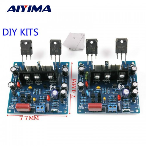 Aiyima Dual Channels Audio Power amplifiers Board Diy Kit New Version