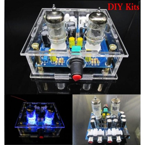 Newest tube preamp amplifier board Headphone