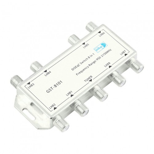 8 in 1 Satellite Signal Switch LNB Receiver Multiswitch Newest