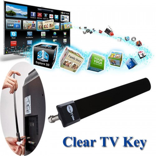 Fashion Clear TV Key TV Digital Indoor Antenna