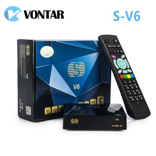 Genuine S V6 Mini HD Satellite Receiver TV USB Wifi