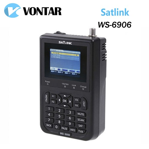 Genuine Satlink WS DVB FTA digital satellite meter satellite finder