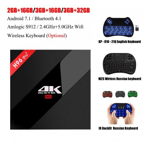 H96 Pro TV Box 3GB 32GB Octa Core Android 7 1