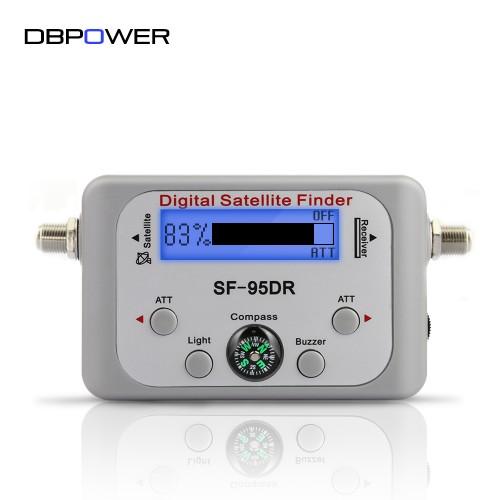 LED Display Digital Satfinder Compass Sat Finder Receptor TV Satellite Receiver Decoder Satlink Night Vision Backlight