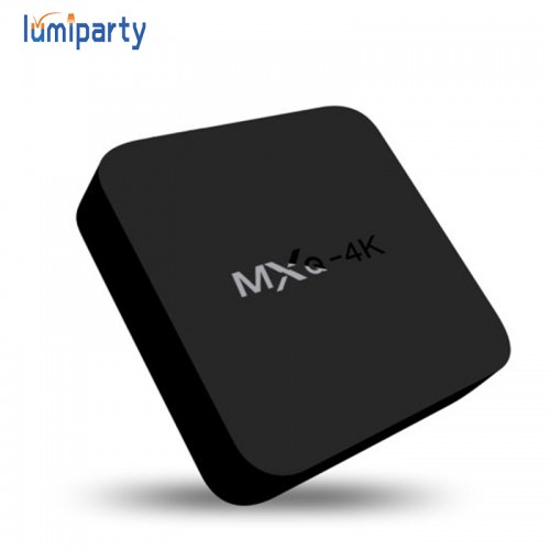 Lumiparty 4k Rockchip Quad core Smart TV Box Android 6.0 1GB 8GB