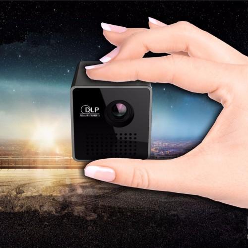 Mini LED Pico Projector Full HD 3D home theatre Portable projector Support