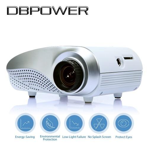 Mini LED Projector Hdmi 1080P HD Portable Pico proyectore Theater projetor TV VGA Games