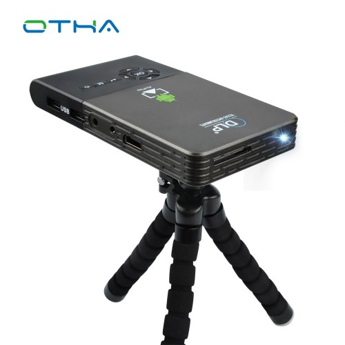Mini Projector Wifi Smart DLP Projector Full HD Proyector Built in Bluetooth Projector HDMI