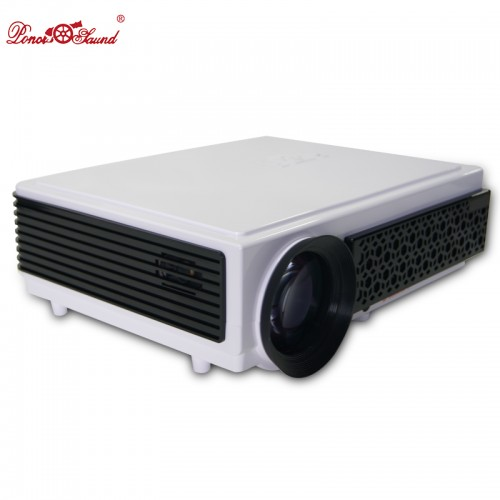 Poner Saund led Projector Support 1080p home theater WIFI video tv lcd usb projetor proyector