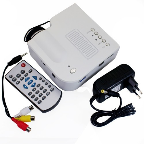 Projector HD Mini LED Digital Video Game Projectors Multimedia Player Inputs