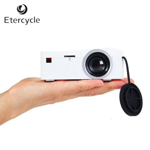 UC18 Mini LCD Support 1080P video original portable projectors with HDMI Card USB